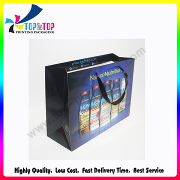 Chinese Factory Foldabe Gift Printed Paper Bag
