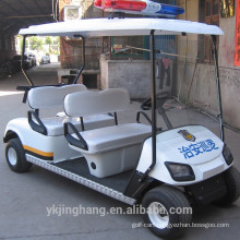 4 seater police gas powered golf carts for community