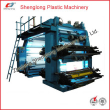 Film Plastic Flexographic Printing Machine/ Flexo Printer (WS884-1000ZS)