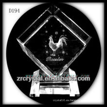 K9 Animal señales láser polla dentro de cristal