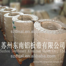 1200 O soft temper aluminum strip for wrapping