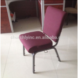Hot selling industrial molding foam church chairs