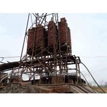 Separador de gravedad minera para planta procesadora de oro