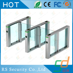 RFID Reader Station Manual Glass Turnstile System