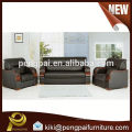 Best selling luxury leather office sofa