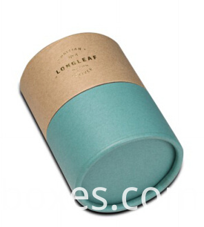 round paper box with roll edge