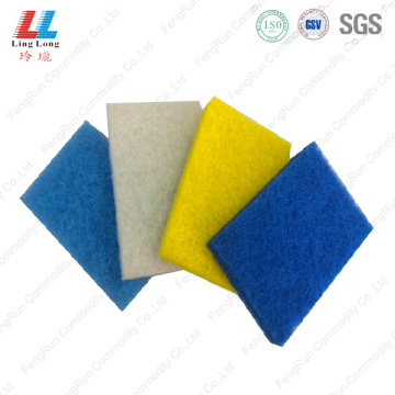 Squishy massaging scouring pad item