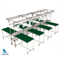 Lean Pipe Rack Workstation Industrial Workbench