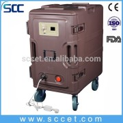 catering and restaurant equipment food warming cabinet heating insulation cart