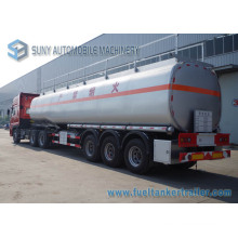 56000L 3 Axle Oil Fuel Tank Truck Trailer for Sale