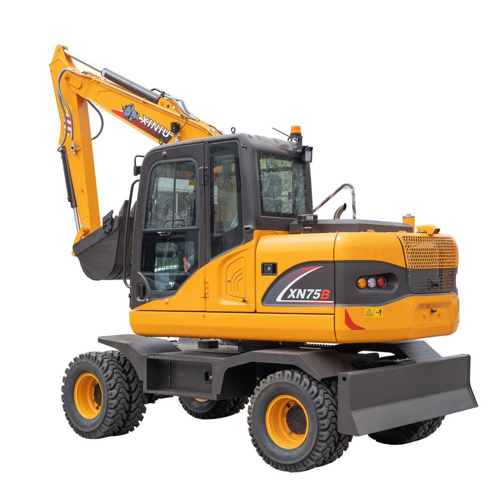 6 Ton Wheel Excavator Xn75b 5