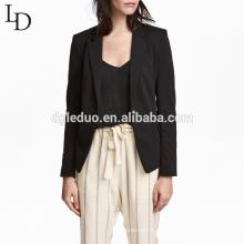Novo design elegante mulheres casuais paletó