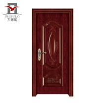 Puerta de madera de acero de la casa de la sala de clase de Eco-Friendly de gama alta de Costomize