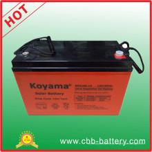 Bateria solar do preço 100ah da bateria 12V para o sistema da fora-Grade
