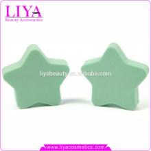 Cosmetic Star Shape Sponge, Latex Makeup Sponge Puff 2015