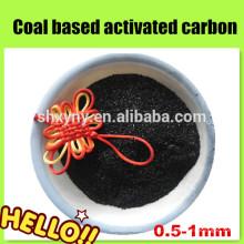Carvão ativado granulado a base de carvão para proteção