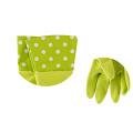 Buen uso barato del hogar 38 * 16.5 limpieza de guantes de plástico naranja mano de trabajador de goma