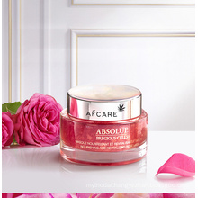 Pink Rose Cream Mask Purifying OEM Pure Rose Powder Organic Cleansing Face Pink Clay Mask Moisturize Mask