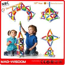 Jumbo Magnetic Constructores para Niños SmartMax Max Sticks Barras