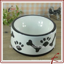 Cerâmica pet food salad bowl