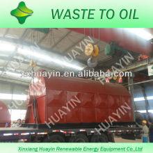 gestão de resíduos de plásticos para fornecedor de usina de óleo combustível