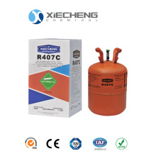 Good Quality for Hfcs(Hydro-Fluorocarbon) Mixed Refrigerant r407C gas for 25lb supply to Samoa Supplier