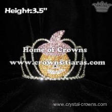 Crystal Pumpkin Halloween Crowns