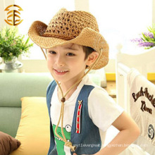 Wholesale Casual Summer Fashion Sunsreen Kids Cowboy Straw Hat