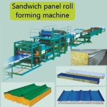 Máquina formadora de rolos de painel de parede sanduíche Hky