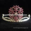 wholesale hair accessories crystals snowfake tiara and crown headband