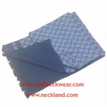 Nouvelle impression d'écran latéral de double conception et écharpe 100% soie balayée par hommes