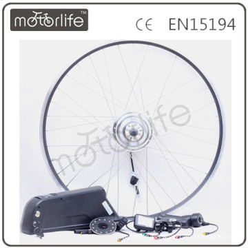 MOTORLIFE/OEM CE 350w 36v cheap electric bike conversion kit with battery