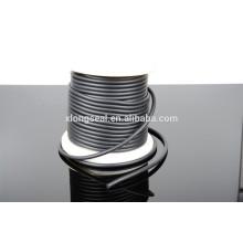Günstige hochwertige schwarze Gummi Halskette Schnur