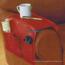 2013 nuevo sofá de cuero organizador / sofá brazo organizador