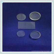 Janela IR-CaF2 de polimento óptico, janela quadrada CaF2