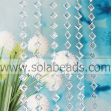 Summer 8.5*20*28mm Crystal Beading Chain Curtain