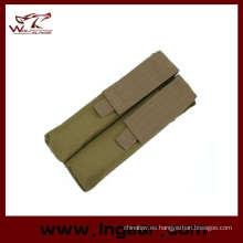 P90 Airsoft Molle Ump doble bolsa del compartimiento