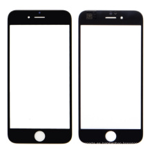 Reemplazo de cristal de pantalla frontal negro para iPhone 6 Plus