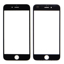 Verre d'écran avant noir de rechange pour iPhone 6 Plus
