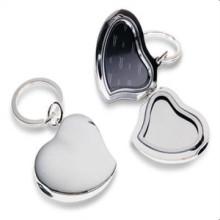 2014 nuevos llaveros de la foto de la forma del corazón del diseño (GZHY-KA-008)