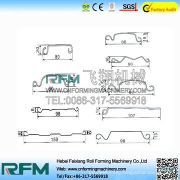 FX metal liner for door roll forming equipment