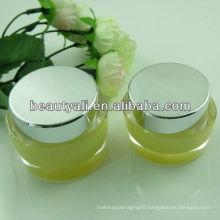 50ml Oval shaped acrylic jar