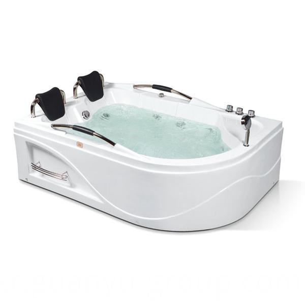 Two People Comfortable Acrylic Bathtub
