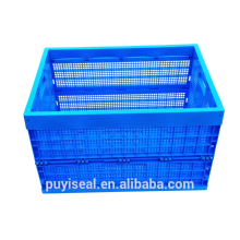 Large Volume plastic foldable storage boxes and bins