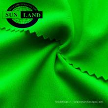 MOQ 200 kg tricot 100 polyester interlock double jersey