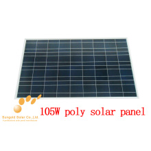 Poly Crystalline 105W 18V Solar Panel
