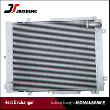 Thinner Type Plate Bar Excavator Oil Cooler For Doosan DH300-7