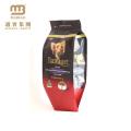 Нестандартной Конструкции Напечатанные Resealable Застежкой-Молнией Верхней Части Нижнего Gusset Пластичные Корма Для Собак Pet Мешок Упаковки Еды