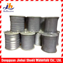 1mm Single/Double Side Reflective Thread Yarn for Knitting Webbing and Ribbon