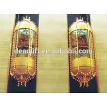 630 кг панорамный лифт на стене из стекла автомобиля с машинным помещением